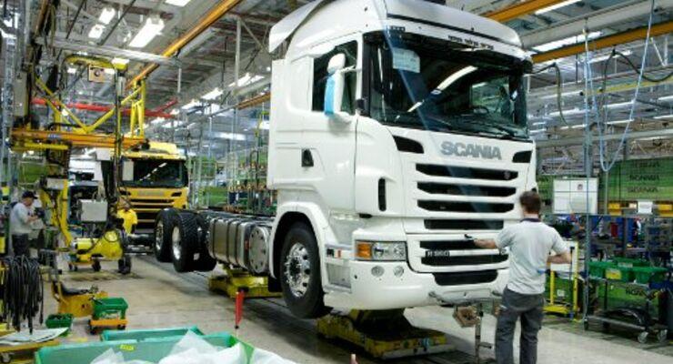 Scania stellt nochmal 500 Mitarbeiter ein