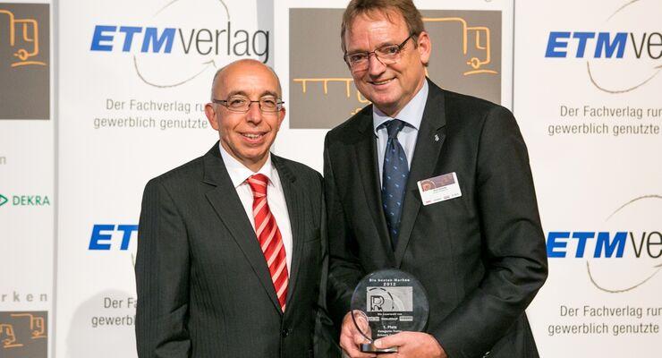 Schmitz Cargobull Beste Marken 2012