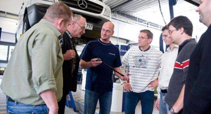 Schulung für Pkw- und Lkw-Werkstätten
