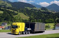 Schwerlasttransport, Scania
