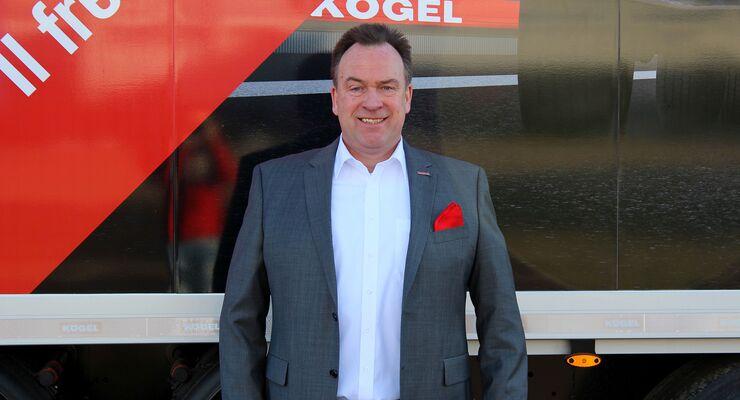 """Sebastian Volbert ist als """"Head of Kögel Financial Services"""" beim Burtenbacher Trailerhersteller künftig verantwortlich für die internationale Absatzfinanzierung."""