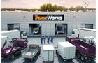 Sieger in Kategorie Truck-Trailerservice: Mercedes-Benz TruckWorks, die von 41,2% der Teilnehmer eine Stimme bekamen, gefolgt von MAN Service Complete (34,2%) und Europart Trailer Station (19,3%).