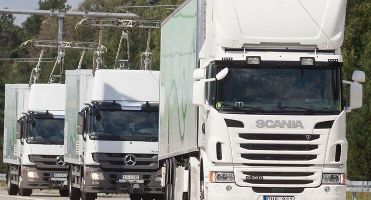 Siemens und Scania
