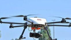 Skyport-Drohne der DB.