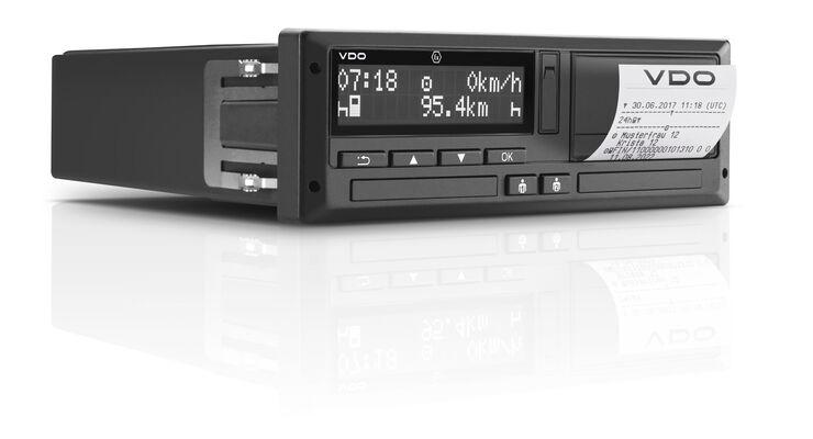 Smarter Tachograf DCTO 4.0 von Continental VDO.
