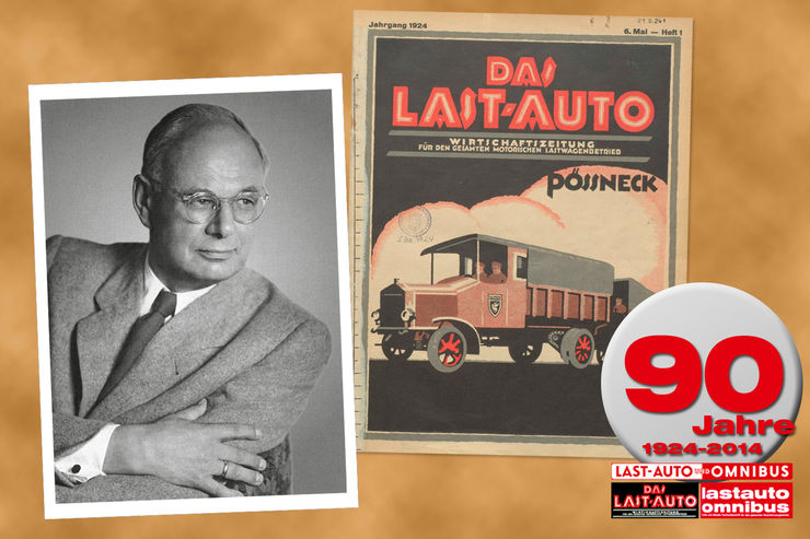 Sonderteil, Die bewegte Geschichte von lastauto omnibus, 90 Jahre
