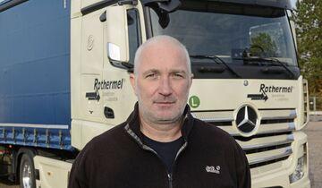 Spedition Rothermel FF 2/20 2/2020 Nufam Edgar Christian Baustoffe Fahrtrainer Fahrschul-Truck