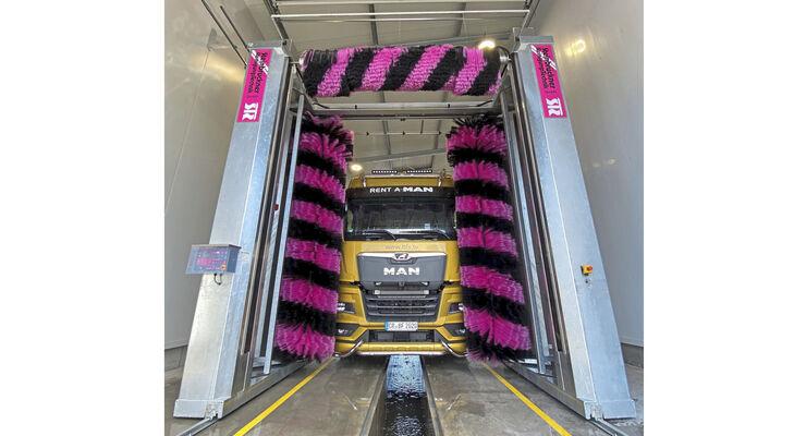 Stegmaier Nutzfahrzeuge Truck-Waschanlage