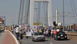 Streik, Demo, Fahrer