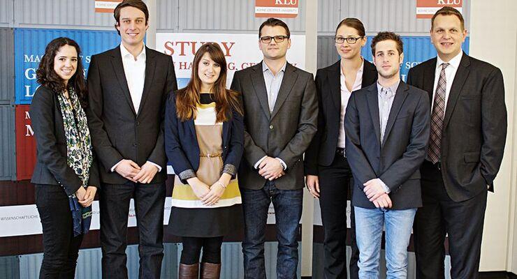 Studenten, Kühne Logistics University, Logistik-Quiz-App