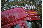 Supertruck FERNFAHRER 05-2011, Scania R 620 von Stuart Haynes aus England, Dach, Lampenb�gel