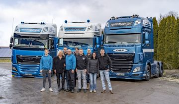 Supertruck Remensperger DAF XF 510
