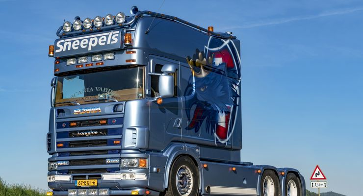 Supertruck Scania Longline