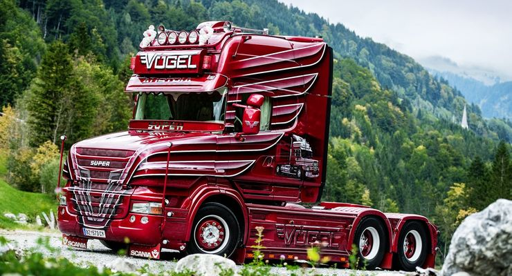 Supertruck Scania T500