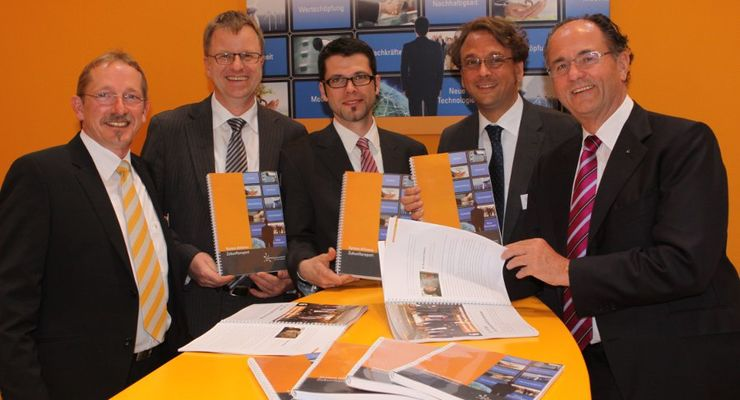 System Alliance, Zukunftsreport, Transport Logistic, Präsentation, Georg Köhler, Bernhard Albert, Heiko von der Gracht, Thomas Krupp, Klaus Hellmann