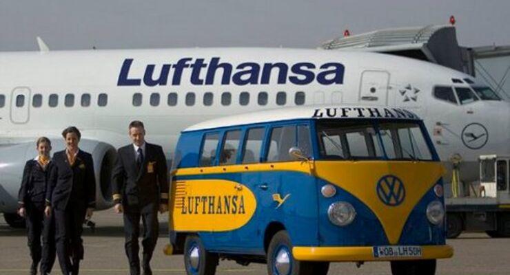T1 beim 50-jährigen Jubiläum der Lufthansa