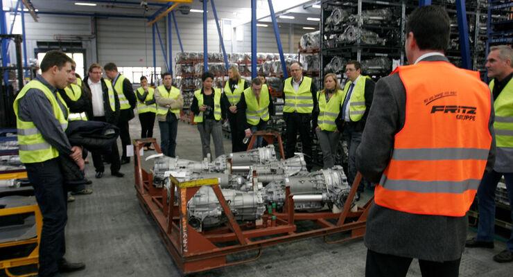 Tag der Logistik 2011, Fritz-Gruppe