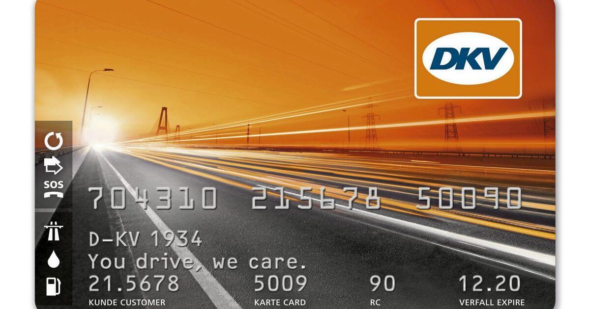 dkv karte Tankkartenübersicht : DKV Card   Eurotransport