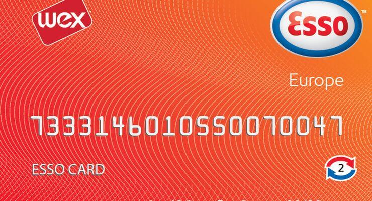 Tankkartenübersicht 2014: Esso Card