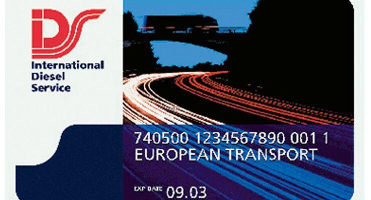 Tankkartenübersicht 2014: IDS Card