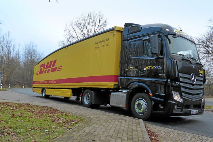 Teardrop-Trailer, DHL