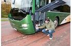 Test, MAN, Lion's Regio C, Linienbus, Überlandbus, Reisebus, Serviceklappe, Bug, Reserverad, Wassertank