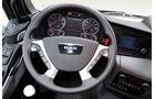 Test, MAN, TGS 18.400, Amaturenbrett, Lenkrad, Geschwindigkeitsanzeige, Display, Lkw