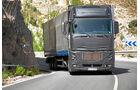 Testfahrer, Daimler Trucks, Tarnkleid, Mercedes-Prototypen, Andalusien