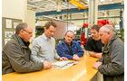 Testfahrer, Daimler Trucks, Werkstatt, Pressetests
