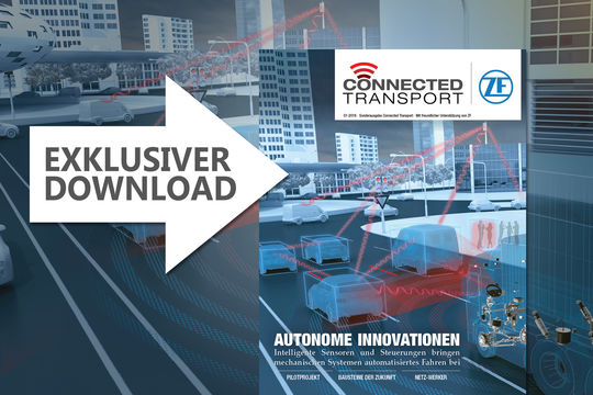 Titel Connected Transport 2018