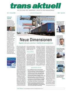 Titelseite trans aktuell, Ausgabe 11/2020
