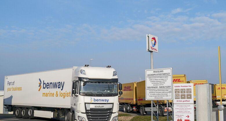 Total AH Krefeld, Truckstop FF 5/2018, Sicherheitsparken.