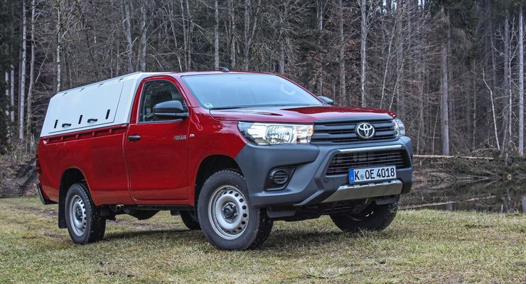 toyota hilux single cab 2 4 unzerst rbare pick up legende. Black Bedroom Furniture Sets. Home Design Ideas
