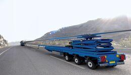 Transport von Windkraftanlagen