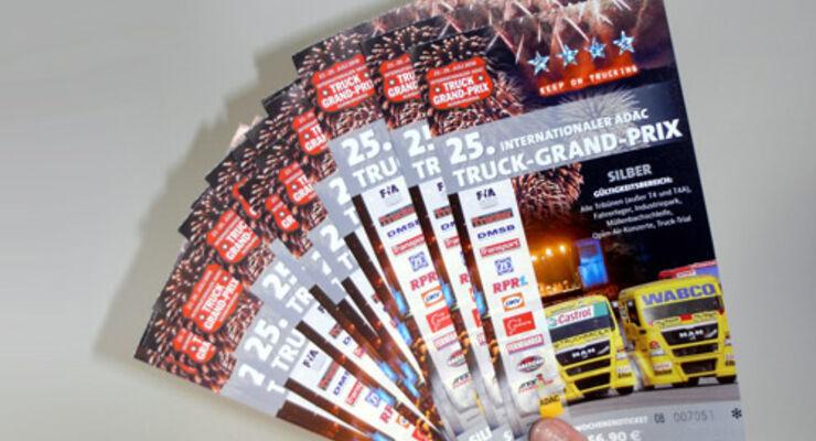 Truck-Grand-Prix 2010 – Karten zu gewinnen!