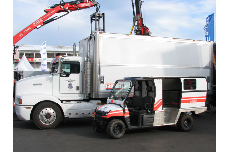 Truck-Grand-Prix, Truck Race, Lkw, Rotes Kreuz