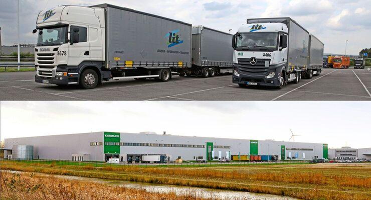 Truckjob Lang-Lkw, FF 11/2017, LIT Logistik.