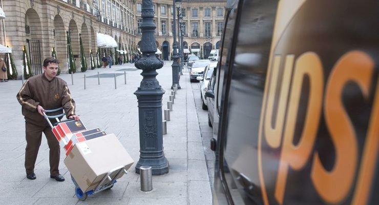 UPS-Zusteller