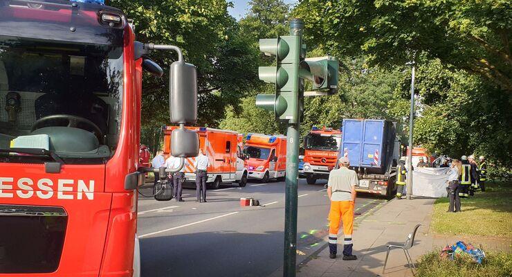 Unfall in Essen