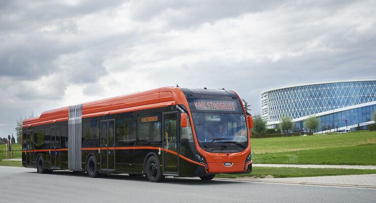 VDL Elektrobus Citea SLFA 181 für Karlsstadt / SWE; neue Batteriegeneration 2018 zur Innotrans 2018