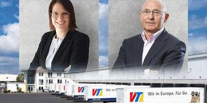VTL-Doppelspitze: Johanna Birkhan und Andreas Jäschke