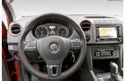VW Amarok Canyon 2.0 TDI, Cockpit, Lenkrad