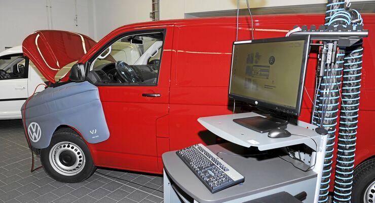 VW Nutzfahrzeug, Werkstatt, IT-Weiterbildung, Qualifizierung