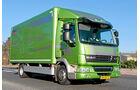 Vergleichstest Hybridlastwagen, DAF LF45