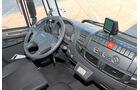 Vergleichstest Hybridlastwagen, Iveco, Fahrerhaus