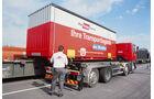 Verladung eines Mobiler Rail Cargo Austria KV Kombinierter Verkehr Österreich
