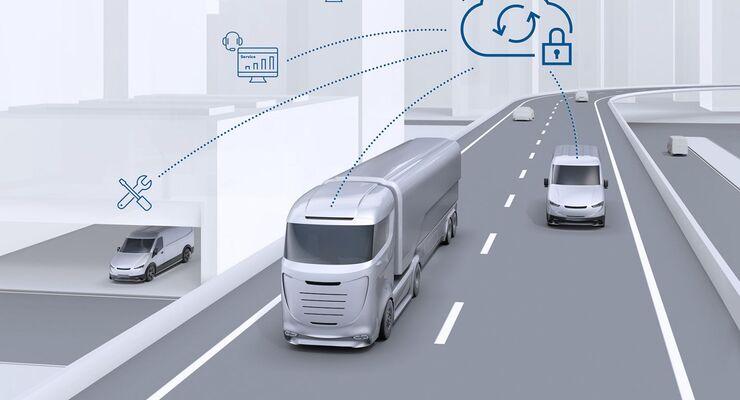 Vernetzte Fahrzeuge