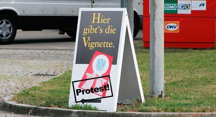 Vignetten, Protest