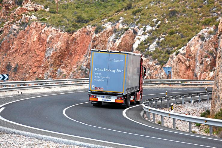 Voith-Sekundär-Wasserretarder, Actros, Trucking