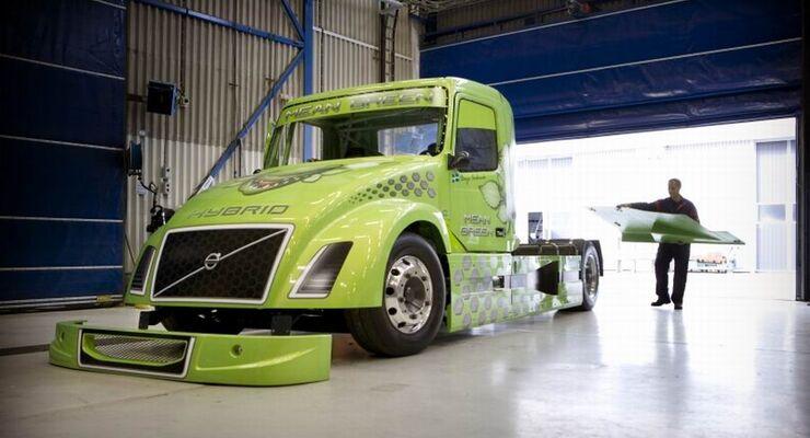 Volvo Hauber, Geschwindigkeitsrekord